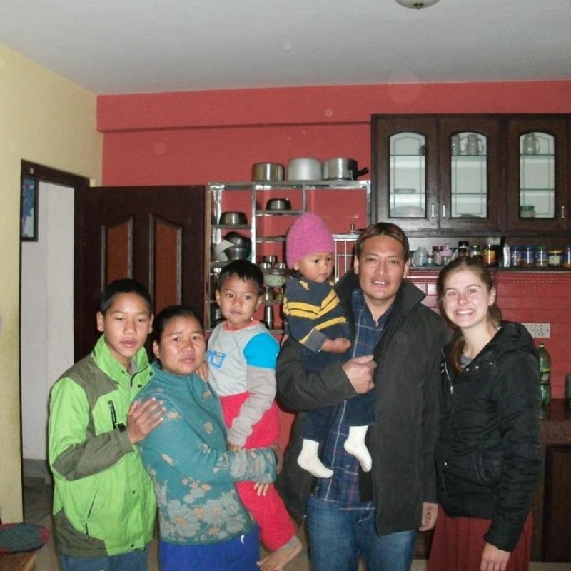Kim A in Nepal